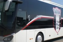 Accident cu autocarul Astra pe centura Capitalei
