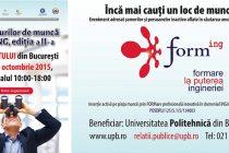 Universitatea Politehnica organizeaza Bursa locurilor de munca FORMING la Sala Palatului. Ce joburi sunt disponibile