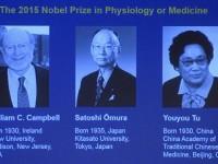 CASTIGATORI NOBEL 2015. Premiul Nobel pentru Medicina, castigat de trei cercetatori