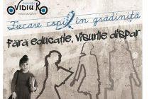 Fiecare Copil in Gradinita, un proiect pilotat de OvidiuRo, a devenit lege