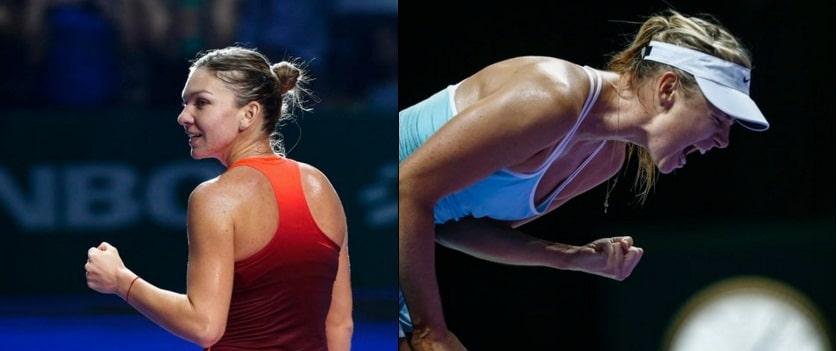 TURNEUL CAMPIOANELOR 2015. Simona Halep vs Maria Sarapova