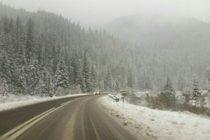 Atentionare MAI de vreme severa, soferii trebuie sa tina cont ca vor fi ninsori viscolite in toate zonele montane