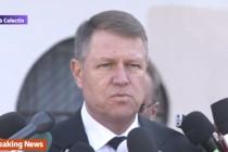 Iohannis, moment de reculegere la clubul Colectiv din Bucuresti: Am vrut sa vad locul in care s-a petrecut tragedia, este incredibil!
