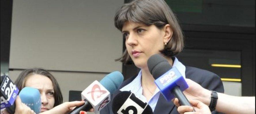 Kovesi a declarat la intoarcerea de la Bruxelles ca este onorata de votul primit in Parlamentul European
