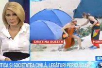 Cristina Guseth apare in fotografii la plaja cu Monica Macovei. Ministrul desemnat al Justitiei vs legaturile periculoase dintre politica si societatea civila