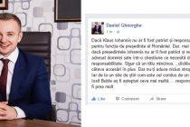 Deputatul PNL Daniel Gheorghe, suparat pe site-urile de stiri care atrag trafic cu titluri mincinoase