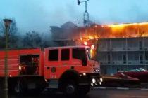 Explozie la Brasov in garsoniera unui pensionar, o persoana a decedat