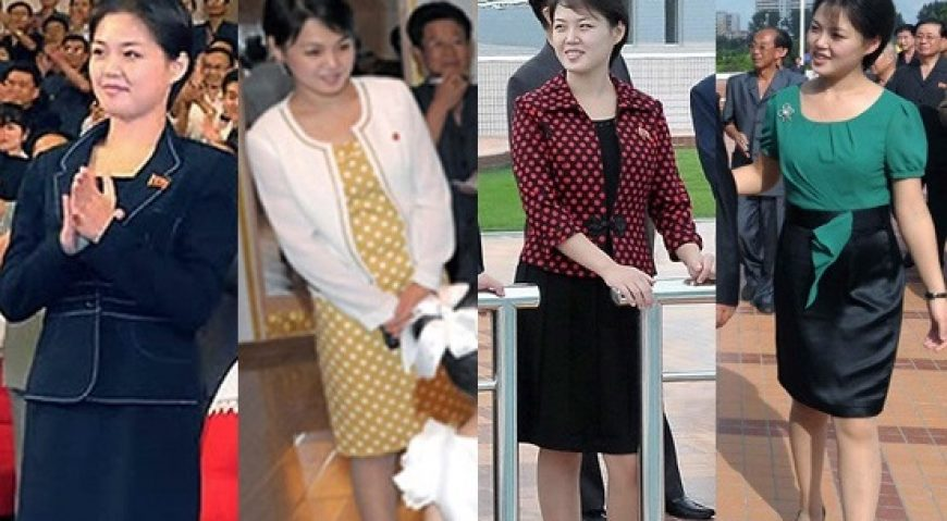 Kim Jong-un si sotia sa, Ri Sol-ju