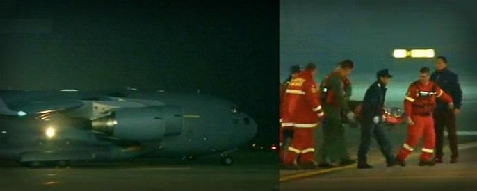 NATO se implica in tragedia COLECTIV. Aeronava NATO a dus 10 raniti in spitale din Marea Britanie si Norvegia