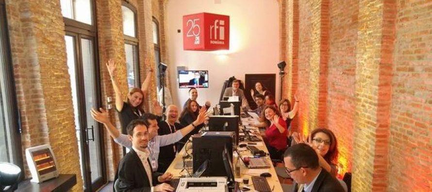 RFI Romania a implinit 25 de ani de cand emite pe undele actualitatii franco-romane