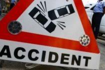 Accident in pasajul de la Piata Presei din Bucuresti, patru masini implicate