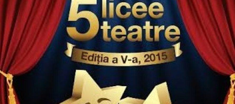 Invitatie la teatru! Gala 5 licee – 5 teatre la Teatrul National din Bucuresti