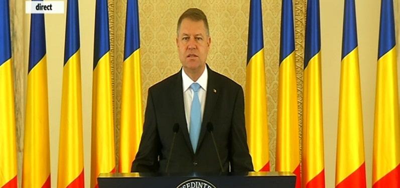 Mesajul lui Klaus Iohannis de Ziua Nationala: 1 Decembrie este inca un pas spre acel viitor pe care ni-l dorim cu totii