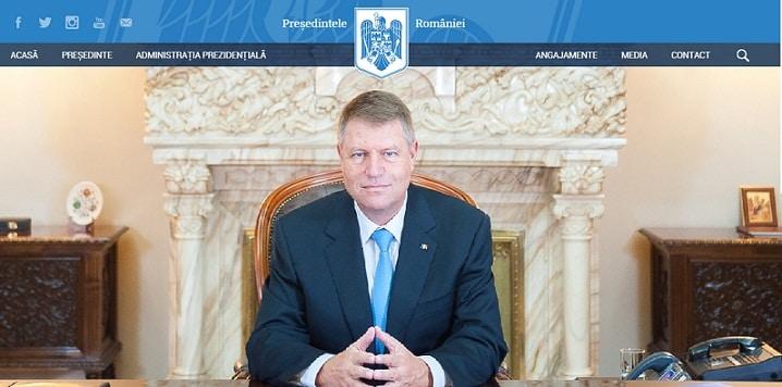 Iohannis a sters de pe siteul Presedintiei Romaniei arhiva cu Traian Basescu