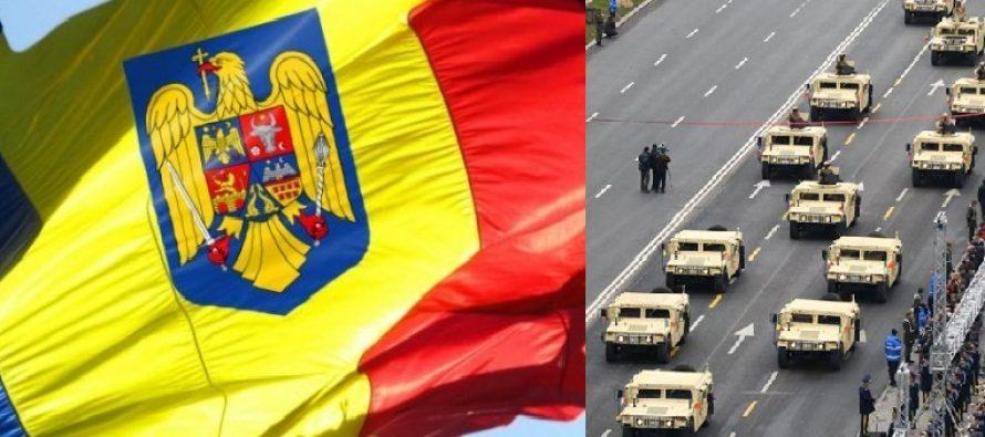 Parada militara de Ziua Nationala a Romaniei va incepe la ora 11.00. Proteste in Piata Victoriei si la Arcul de Triumf