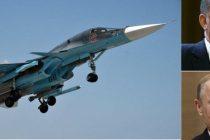 Un avion rusesc SU-34 a incalcat din nou spatiul aerian al Turciei. Erdogan cere intalnire de urgenta cu Putin