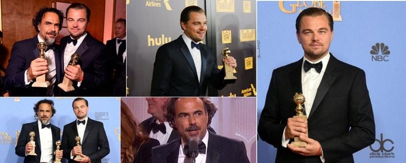CASTIGATORI GLOBURILE DE AUR 2016: The Revenant si Leonardo DiCaprio, cel mai bun film si cel mai bun actor