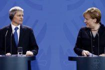 Dacian Ciolos si Angela Merkel au sustinut o conferinta de presa comuna la Berlin