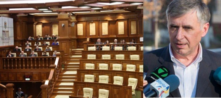 MOLDOVA. Guvernul Sturza a fost respins, criza de la Chisinau se amplifica