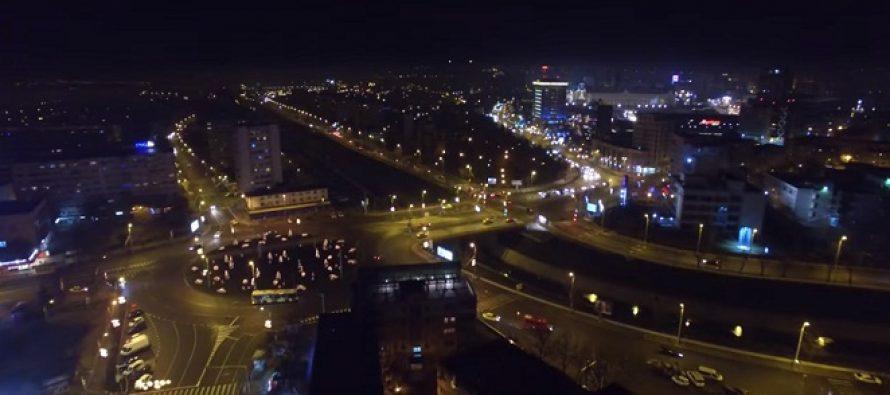 Orasul Iasi filmat de sus. VIDEO din drona