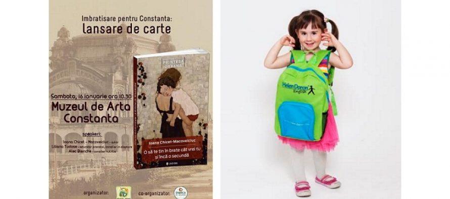 Lansare de carte la Constanta. Ioana Chicet-Macoveiciuc, printre cele mai cunoscute mamici-blogger, lanseaza o carte de parenting