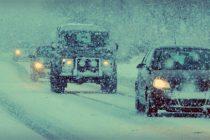 Cod Portocaliu de ninsori abundente, strat semnificativ de zapada si viscol in 9 judete din tara. Situatia prezentata de DSU