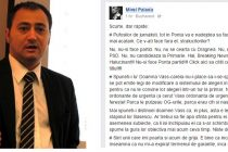 Mirel Palada: Pufosilor de jurnalisti, tot in Ponta va e nadejdea sa faceti niste stiri mai acatarea