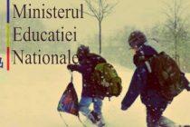 Scoli inchise pe 12 si 13 ianuarie 2017 in Bucuresti, Constanta, Tulcea, Calarasi, Vrancea si Ilfov