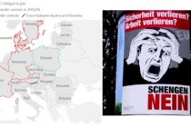 Tratatul Schengen ar putea fi suspendat la viitorul Consiliu European