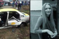Accident la Vladuleni, Gorj. Anca Minoniu, profesoara la Colegiul Tehnic din Targu Jiu, a murit pe loc