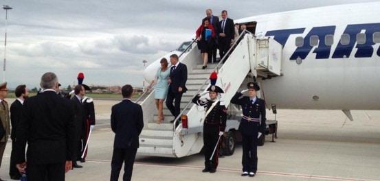 Avion special pentru presedintele Iohannis, premierul Ciolos si alte delegatii oficiale