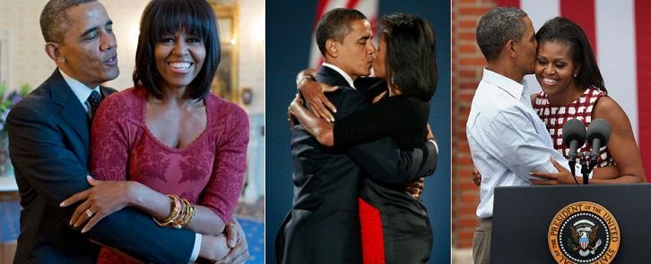 Declaratii de dragoste intre cuplul prezidential Barack si Michelle Obama