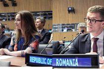 Anca Agachi si David Timis au reprezentat Romania la ONU