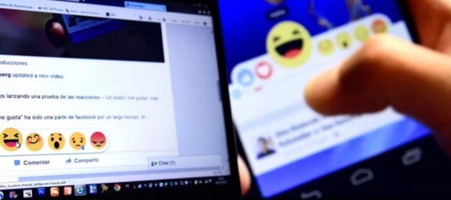 """Facebook introduce noile butoane de reactii, o extensie a optiunii """"Like"""""""