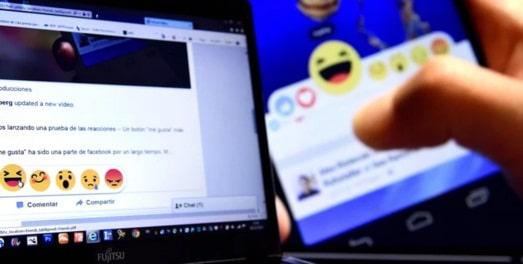 Butoanele Facebook au fost schimbate. Butonul REACTII este disponibil acum la nivel mondial!