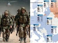 NATO detaseaza mii de militari, avioane si rachete in Europa de Est