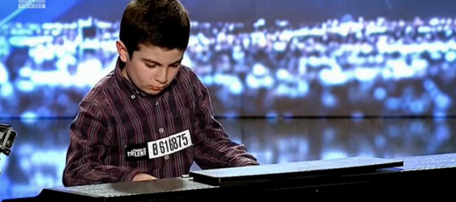 Un pianist super talentat din Siria la ROMANII AU TALENT, 26 FEBRUARIE 2016