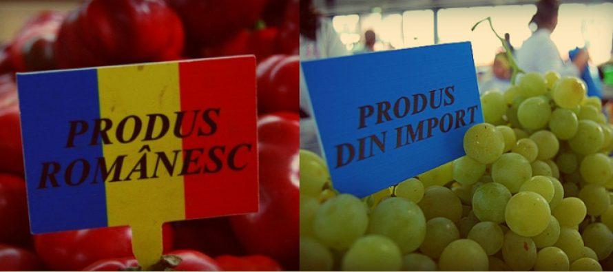 Produsele romanesti, discriminate in tara lor. Doar 30% din carnea si legumele din hipermarketuri sunt romanesti!