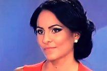 MIREASA PENTRU FIUL MEU. Liliana atragea privirile cu formele sale si in afara competitiei, pe vremea cand dadea probe pentru postul de asistenta tv