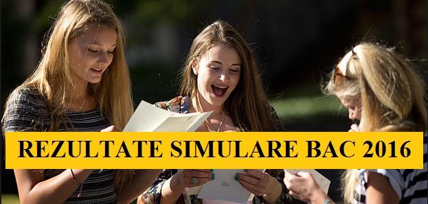 NOTE REZULTATE BACALAUREAT 2016 - SIMULARE BAC 2016. Cand se afiseaza rezultatele la examenul de SIMULARE BACALAUREAT
