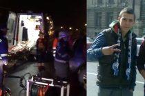 Adrian Bicu si Emanuel Coroma, membri ai galeriei FC Farul, au murit intr-un grav accident produs in Mamaia