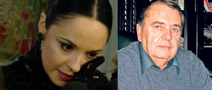 Andreea Marin si-a inmormantat tatal