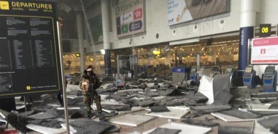 Explozii pe aeroportul din Bruxelles