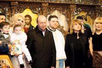 Basescu si Udrea, la botezul deputatului Adrian Gurzau. FOTO