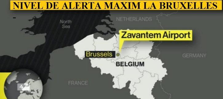 EXPLOZII PE AEROPORTUL ZAVENTEM DIN BRUXELLES, MAI MULTI MORTI SI RANITI. UPDATE