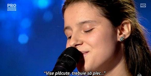 MARA PRUNA, ROMANII AU TALENT 18 MARTIE 2016. S-a vindecat de autism prin muzica! Smiley a invitat-o in studioul HaHaHa Production