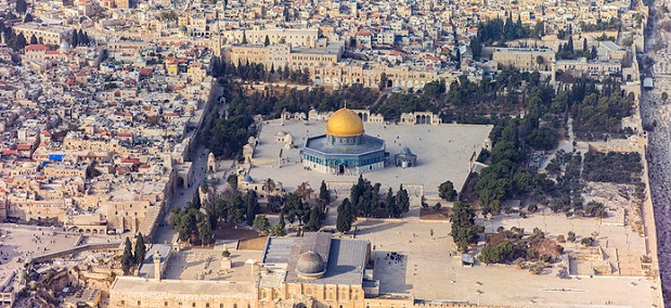 Muntele Templului din Ierusalim este cea mai contestata proprietate din lume