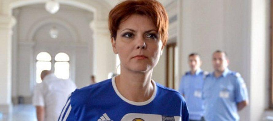 Olguta Vasilescu a fost retinuta pentru luare de mita si spalare de bani in campania electorala