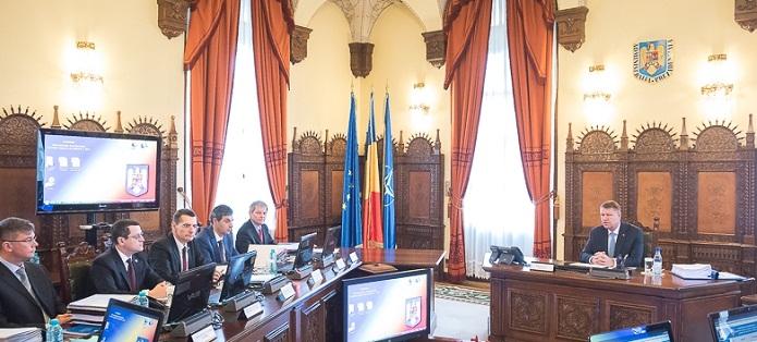 Sedinta CSAT s-a incheiat. Pericolul migratiei si modernizarea Armatei Romane, pe masa discutiilor