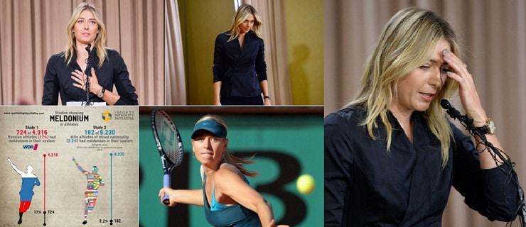 Cutremur in lumea tenisului! Sharapova, dopata la Australian Open